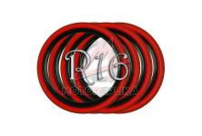 Флипперы Twin Color black-red R16 (4 шт.)