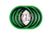 Флипперы Twin Color black-green R15 (4 шт.)